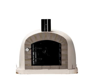 Veelzijdige zwarte pizza oven