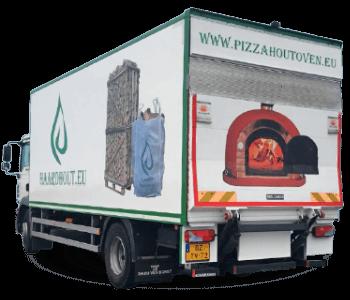vrachtwagen van pizzahoutoven.eu
